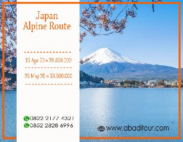 8 DAYS 6 NIGHTS JAPAN ALPINE ROUTE